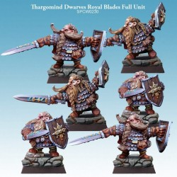 Thargomind Dwarves Royal Blades Full Unit
