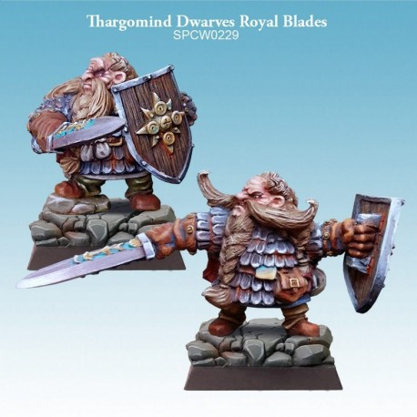 Thargomind Dwarves Royal Blades Full Unit