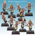 Wood Elves Young Axemen Full Unit