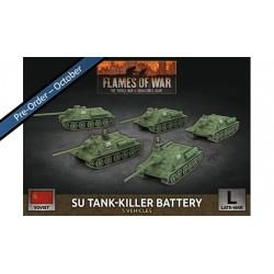 SU-76 Light SP Battery (x5 Plastic)
