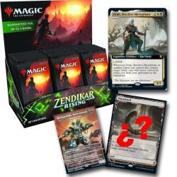 El resurgir de Zendikar - Expositor de sobres de expansión