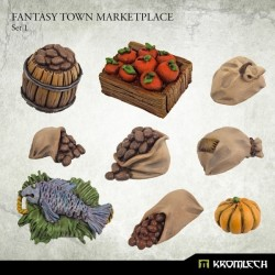 FANTASY TOWN MARKETPLACE SET 1