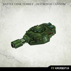 Battle Tank Turret: Destroyer Cannon (1)