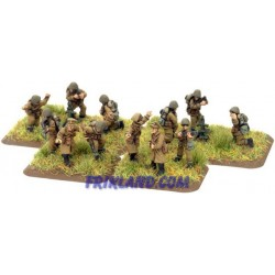 Polish Battalion HQ w/ mortars
