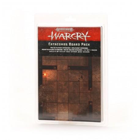 WARCRY: PACK DE TABLEROS CATACUMBAS