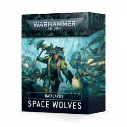 DATACARDS: SPACE WOLVES (ENGLISH)