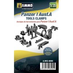 Anclajes de herramientas para Panzer I Ausf.A