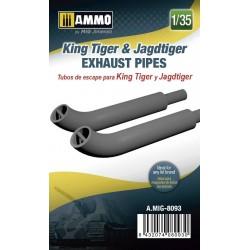 Tubos de escape para King Tiger y Jagdtiger
