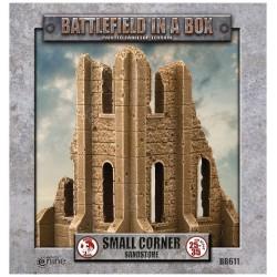 Gothic Battlefields: Medium Corner - Sandstone
