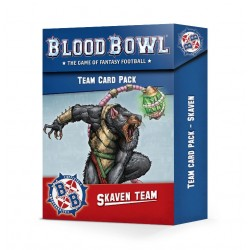BLOOD BOWL: SKAVEN TEAM CARD PACK