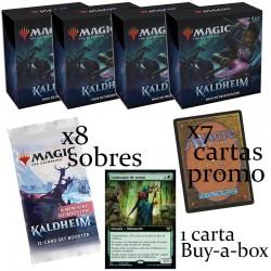Kaldheim - 4x Pack Presentación