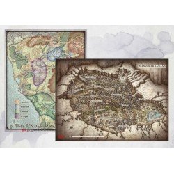 "D&D Out of the Abyss: Map Set (23""x16"", 20""x16"") (inglés)"
