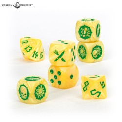 BLOOD BOWL: HALFLING TEAM DICE SET