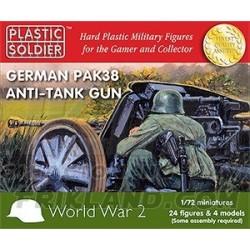 1/72nd German Pak 38 anti tank gun