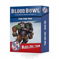 BLOOD BOWL: BLACK ORC TEAM CARD PACK