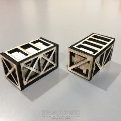 Caja mod. C-3D (2ud)