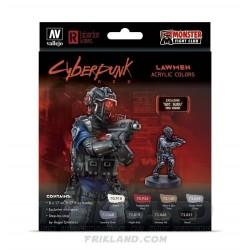 "Cyberpunk: Solo (8) Figura Jonathan ""Warlock"" Powers"