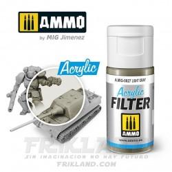 Acrylic Filter: Sand Grey