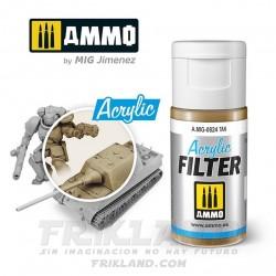 Acrylic Filter: Yellow