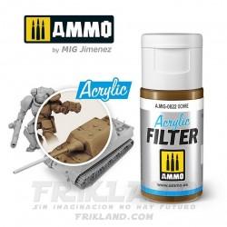 Acrylic Filter: Medium Brown