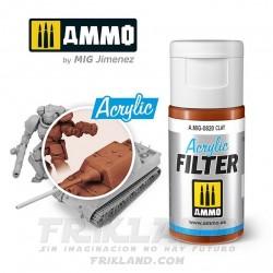 Acrylic Filter: Rust
