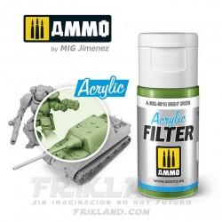 Acrylic Filter: Yellow Green