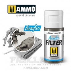 Acrylic Filter: Medium Grey
