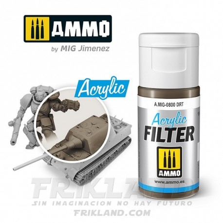 Acrylic Filter: Basalt