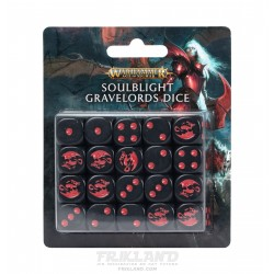 AGE OF SIGMAR:SOULBLIGHT GRAVELORDS DICE