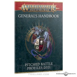 GENERAL'S H/BOOK: PITCHED BATTLES '21 (eng)