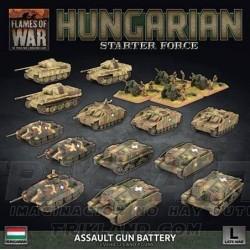 Hungarian Starter Force: Zrinyi Assault Gun Battery