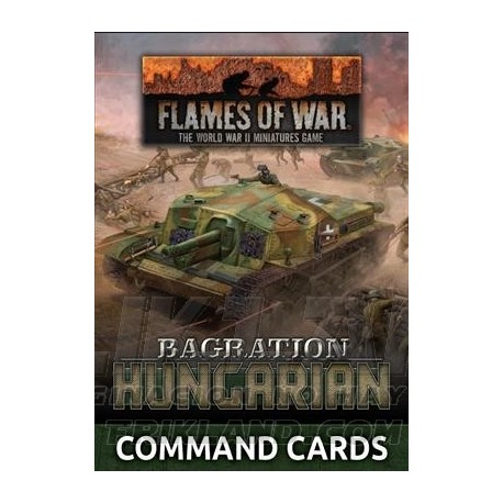 Lw Hungarian Unit Card Pack (37x Cards)