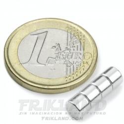Bolsa 40 imanes de neodimio 3 mm (diámetro) x 2 mm (grosor)
