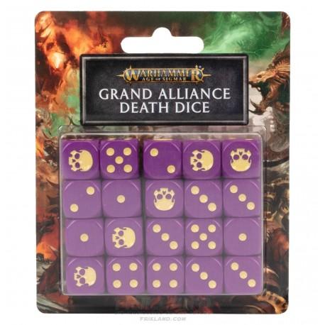 AOS: GRAND ALLIANCE DEATH DICE SET