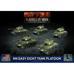 M4 Sherman (Late) Platoon (x5 Plastic)