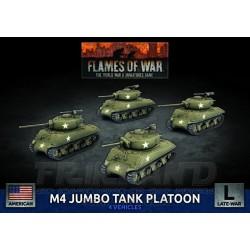 M4 Easy Eight (76mm) Platoon (x5 Plastic)