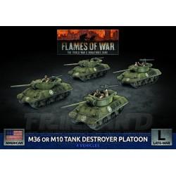 M4 Jumbo Platoon (x4 Plastic)