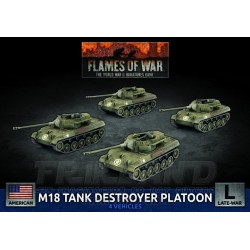M36 and M10 Tank Destroyer Platoon (x4 Plastic)