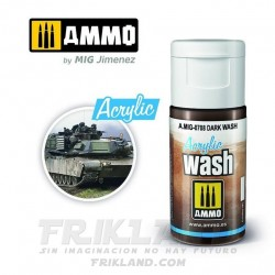 Acrylic Wash. Lavado Marrón para Arena