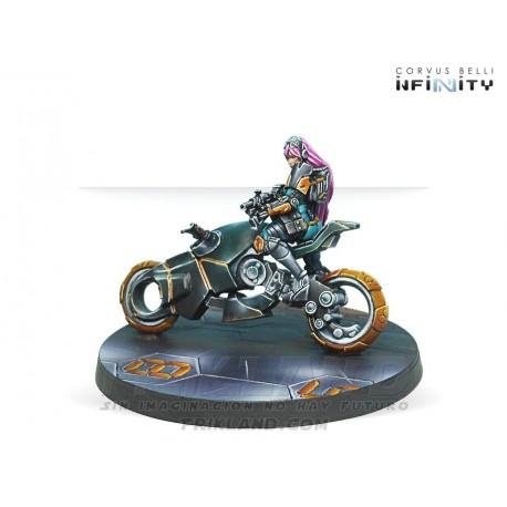 MOTORIZED BOUNTY HUNTERS (BOARDING SHOTGUN)