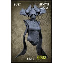 Libra Bust