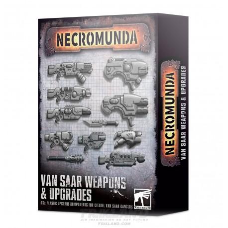 NECROMUNDA: VAN SAAR WEAPONS & UPGRADES