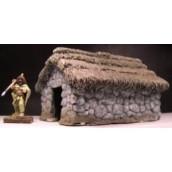 Small Thatched outbuilding