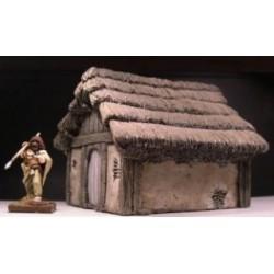 Medium Wattle & Daub dwelling