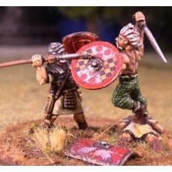 Mounted Scipio & Standard Bearer