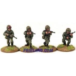 FWA-04 Argentine Marine Infantry Firing SLRs (4)