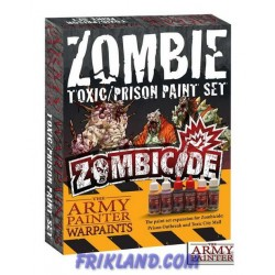 Zombicide: Toxic/Prison Expansion Paint Set
