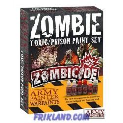 Zombicide: Toxic/Prison Expansion Paint Set