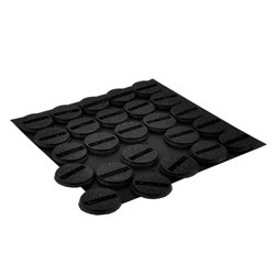 25mm Round Slotted Bases (25)