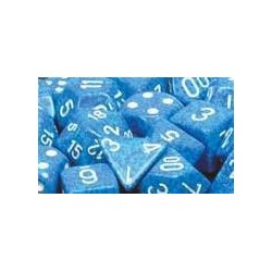 Speckled 16mm d6 Water (12 Dice)
